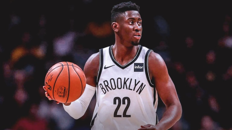 Nets Coy Game with Caris LeVert's Right Thumb Injury
