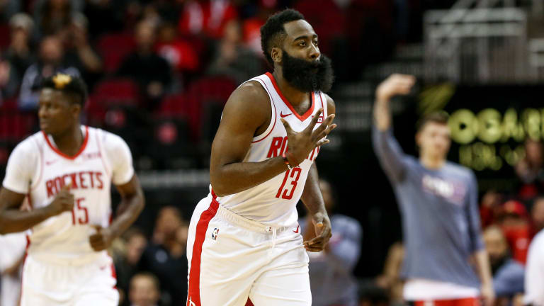 James Harden Carries Rockets With 47 Points in Win Over Clippers