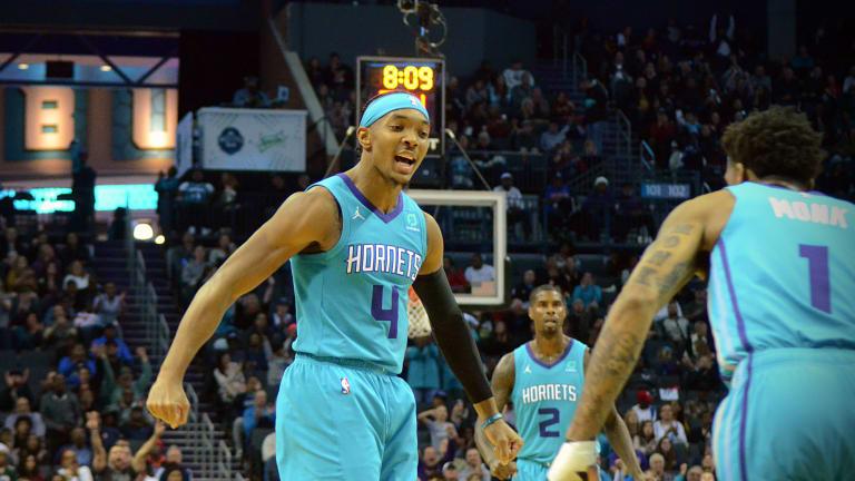 Devonte' Graham's game-winner pushes Charlotte Hornets past New York Knicks