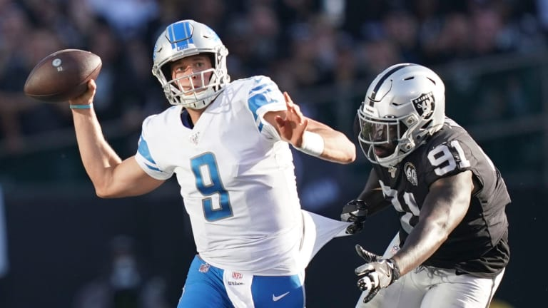 Report: Matthew Stafford Could Miss Six Weeks With Back Injury