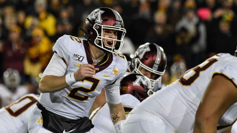 Minnesota QB Tanner Morgan Not Yet Cleared After Concussion