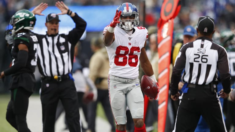 Darius Slayton's Growth as a Receiver Has the Giants Excited