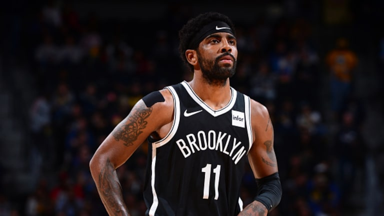 Nets Play Safe While Working Around Kyrie Irving's Injury