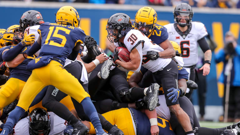 Cowboys Struggle in First Half at West Virginia