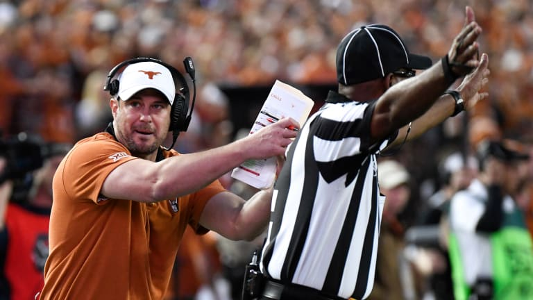 Texas Football: Watch: Texas Head Coach Tom Herman Fires Up Players Before the Showdown With Baylor