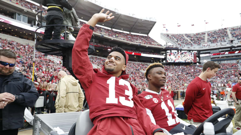 Crimson Tide Gets Lopsided Win in Sendoff Game, But Sendoff to What Nobody Knows