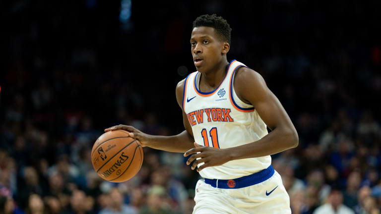 Fizdale's faith in Ntilikina continues to grow