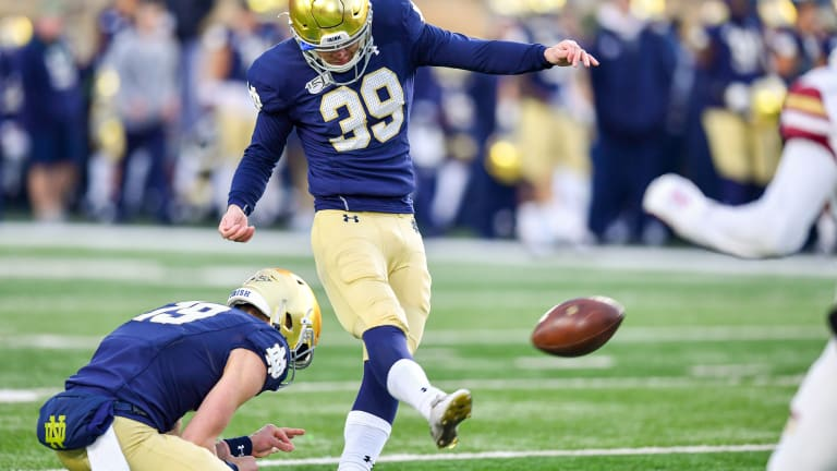 Players Of The Game: Notre Dame 40, Boston College 7
