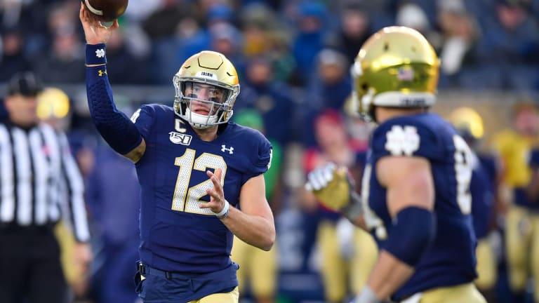 Grades: Notre Dame Offense vs. Boston College