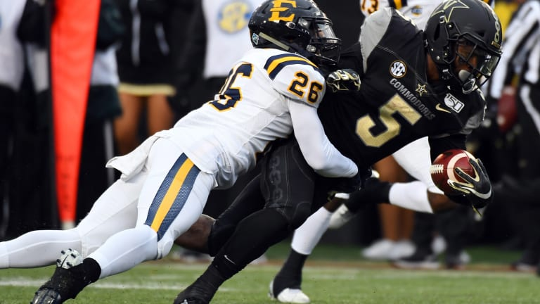 Commodores Take Out Frustration On ETSU In 38-0 Win