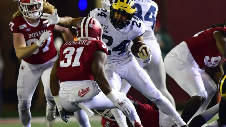 Questions We're Asking After Michigan's 39-14 Win At Indiana