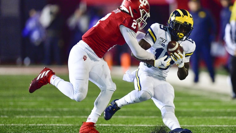 True Freshman Tracker: Michigan Rookie Receivers Gaining Steam