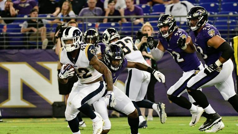 Week 12: Ravens-Rams Game Status