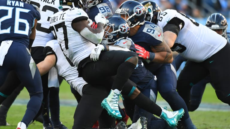 Jaguars Collapse in Second Half Once Again, Lose 42-20 in Nashville