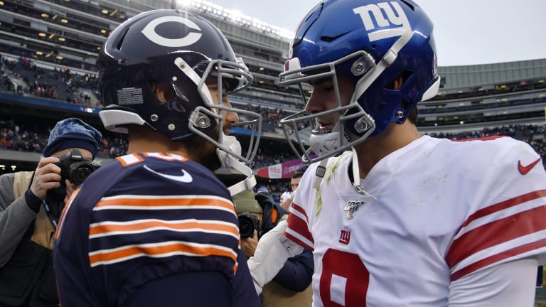 Numbers of Note in the Giants' 19-14 Loss to the Bears