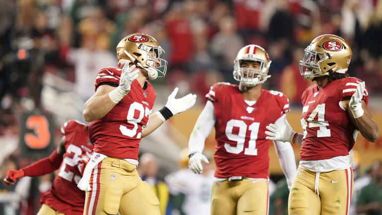 49ers' Pass Rush Dominates in Primetime With 37-8 win vs. Packers