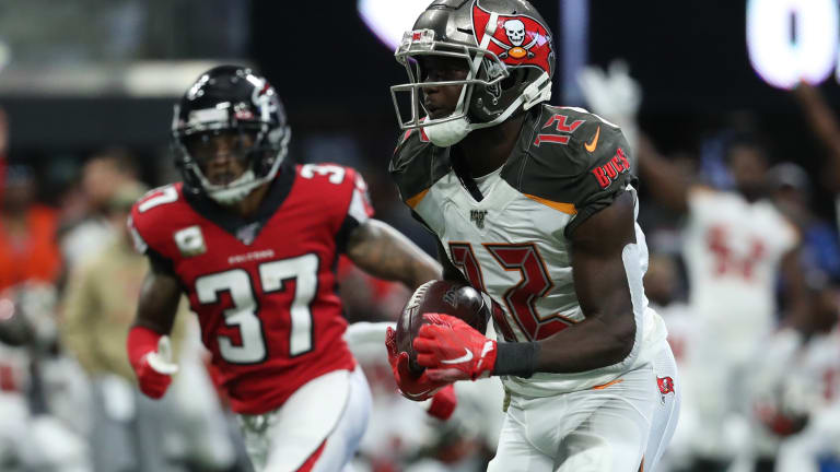 Big Plays Help Bucs Down Falcons, 35-22