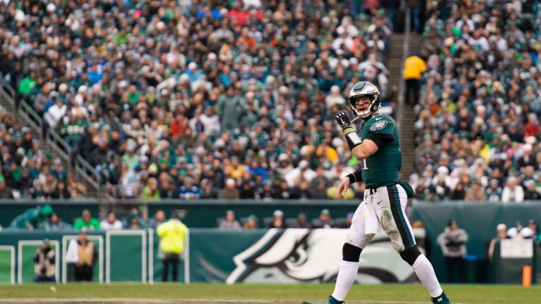 Eagles Offense Struggles Again in 17-9 Loss