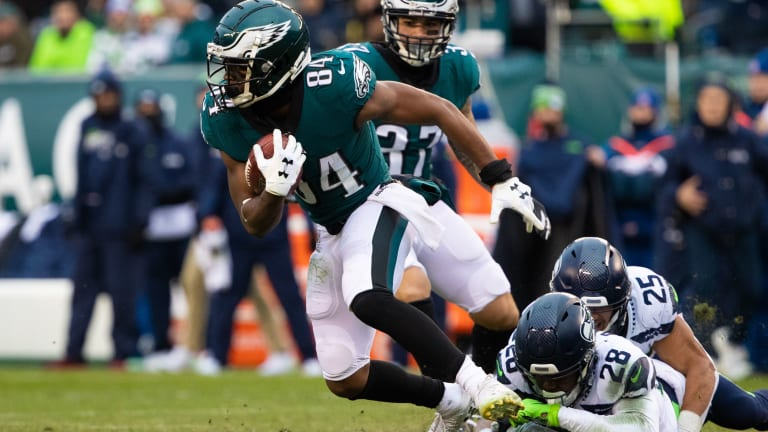 Eagles Receivers Struggling with Details
