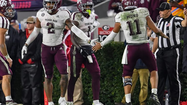 Home for the Holidays: Texas A&M Players Remain Close for Texas Bowl