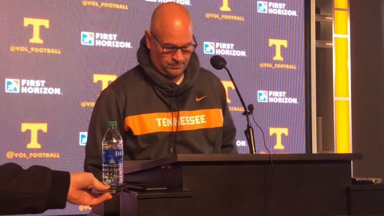 VIDEO: Tennessee coach Jeremy Pruitt's Monday Press Conference