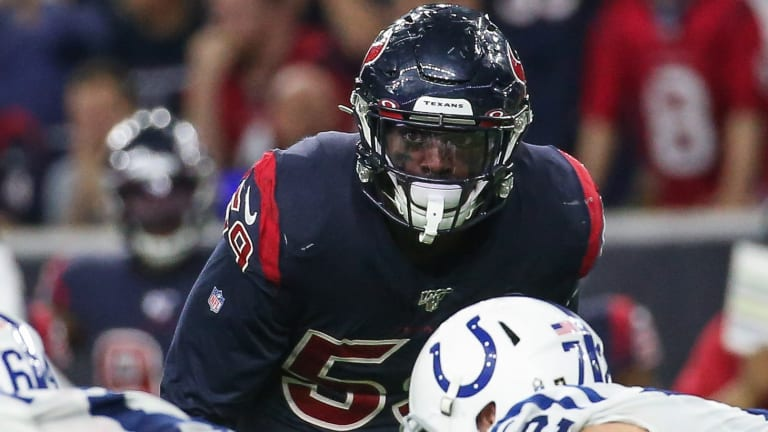 """""""We've Got to Be Clutch"""" - Texans Whitney Mercilus on What It's Going to Take to Win Against the Patriots"""