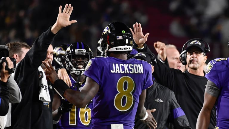 Jackson Wins AFC Offensive Player of the Week for Fourth Time