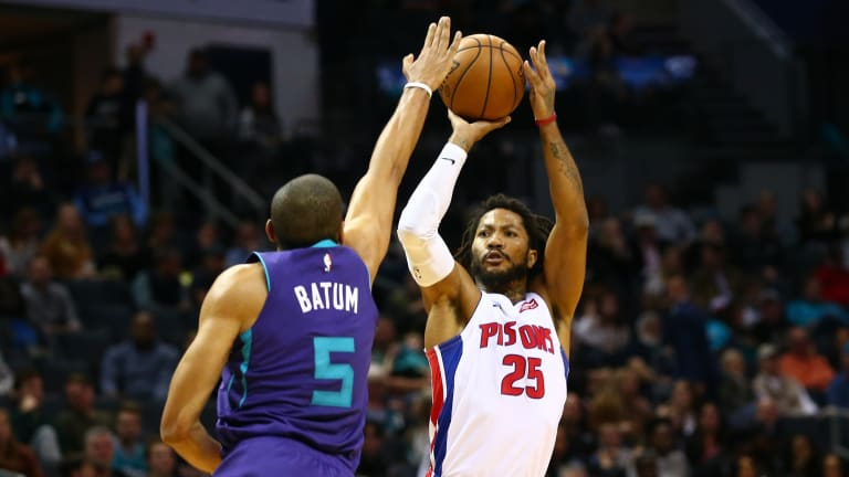 Hornets top Pistons 102-101; Highlights, notes