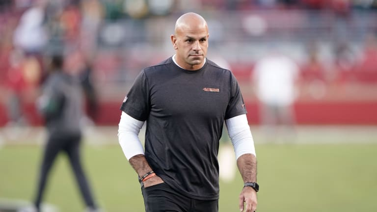 """Robert Saleh Preaches """"Don't chase ghosts"""" in Preparation for the Ravens"""