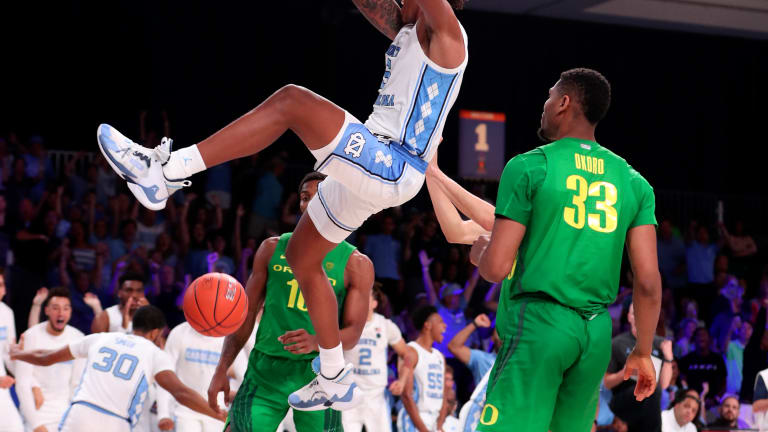 PHOTOS: North Carolina Bounces Back Against Oregon