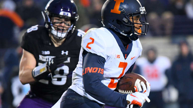 ILLINI GAMEDAY Live Blog: 1:09 left - Northwestern 30, Illinois 10