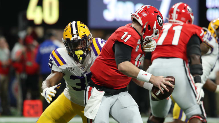 Georgia QB, Jake Fromm Injured against LSU