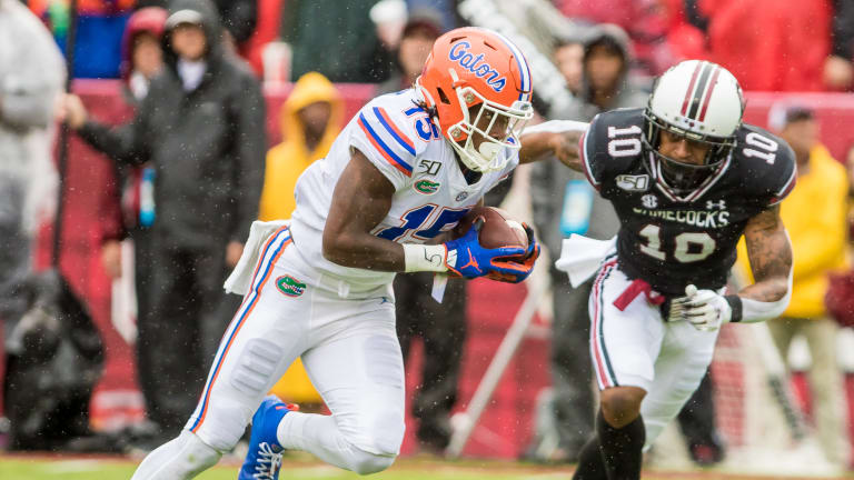 Reviewing the Gators Wide Receiver Corps