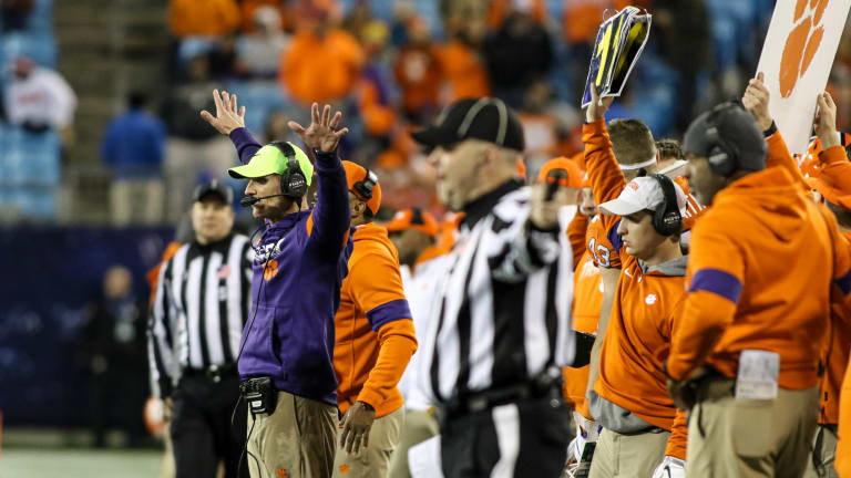 Venables: Key to Beating Ohio State is 'Not Rocket Science'