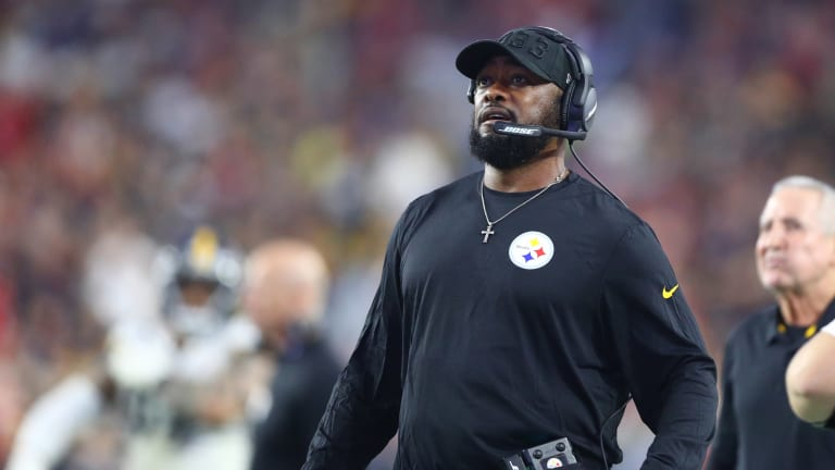 Mike Tomlin Says Jets Have Come After Rookie Quarterbacks This Year. He's Starting a Rookie on Sunday