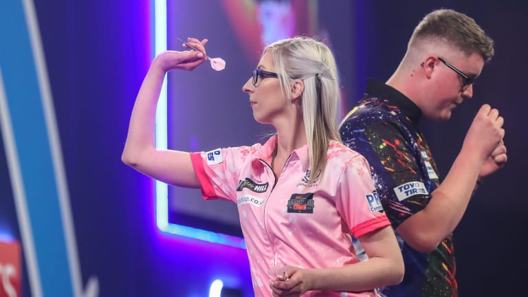 Fallon Sherrock Becomes First Female Darts Player to Beat Man at World Championship