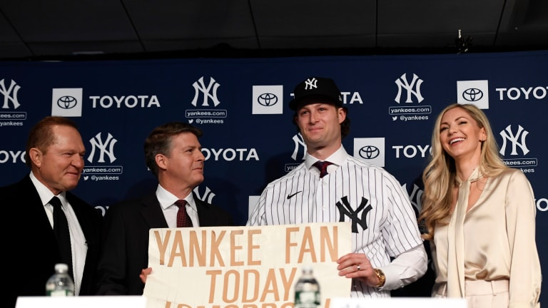 Gerrit Cole's New York Yankees Introduction: An Emotional Moment Two Decades In The Making