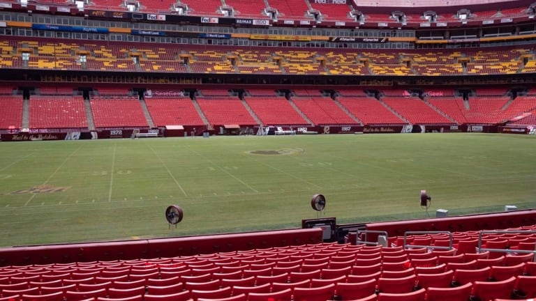 FedExField Remains Natural Grass for 2020