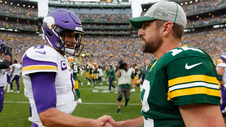 Packers, Vikings Are Mirror Images in Key Stats