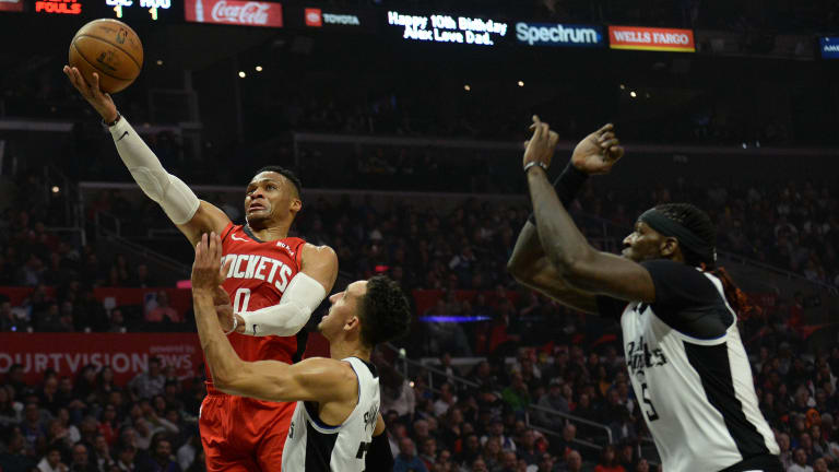 Russell Westbrook Carries Rockets to Comeback Win Over Clippers