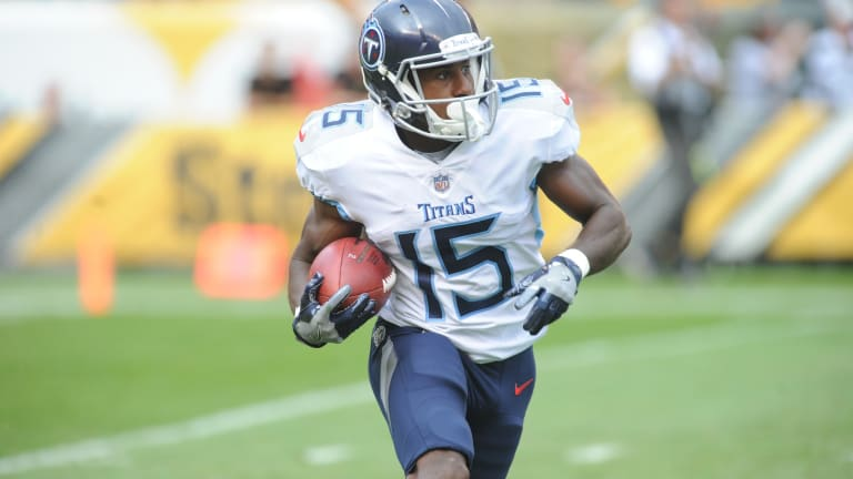 Titans Address Injury Issues, Add Two Wide Receivers