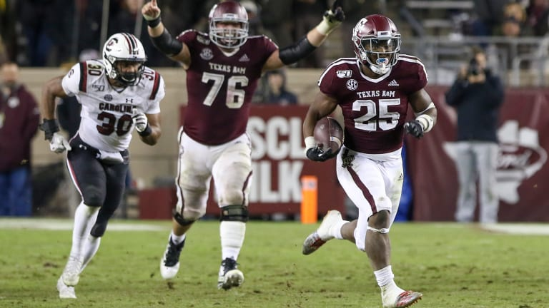 Aggies RB Richardson Will Not Play in Texas Bowl