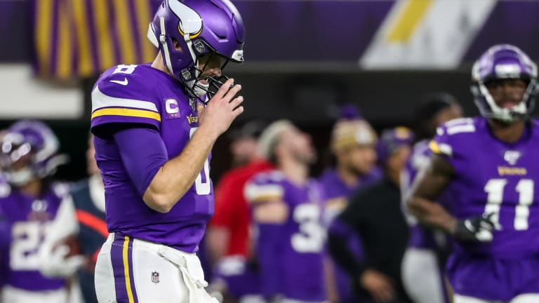 Missed Opportunities Tell the Story of the Night for Vikings Offense