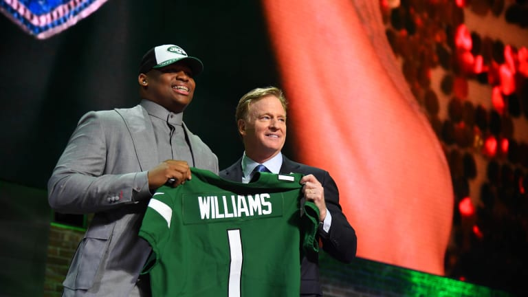 Week 16 Win Sees The Jets Drop (Again) in the NFL Draft Order