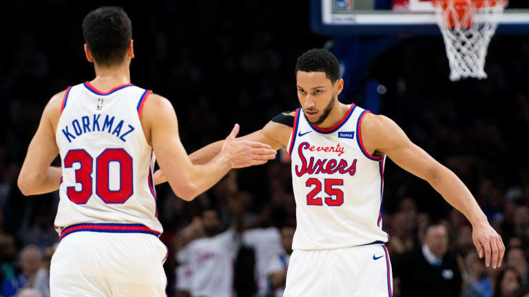 Ben Simmons Credits Furkan Korkmaz for Stepping up During Key Absence
