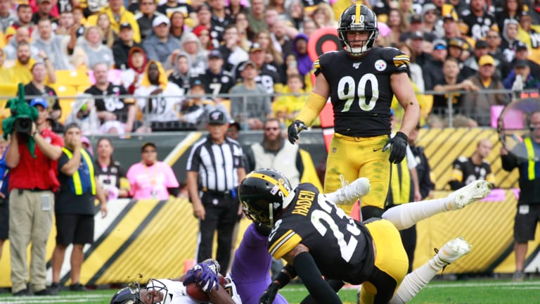 Ravens Will Be Cautious of Steelers 'That Dude Defense'