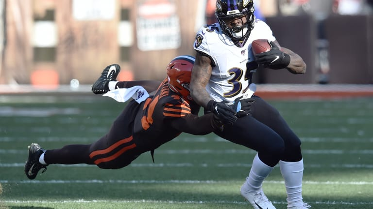 Gus Edwards Ready to Help Ravens Make History