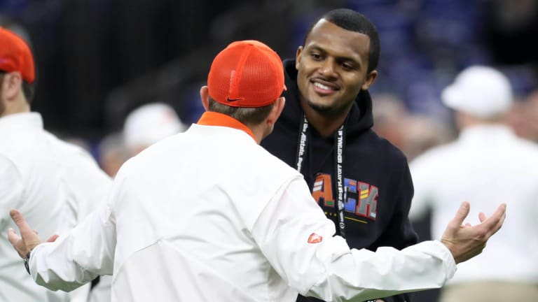 """Deshaun Watson Expecting """"Nothing New"""" With Clemson Matching Up With Ohio State"""