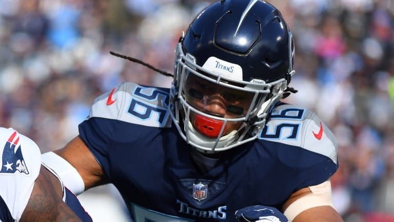 Former Titans Linebacker Available Again