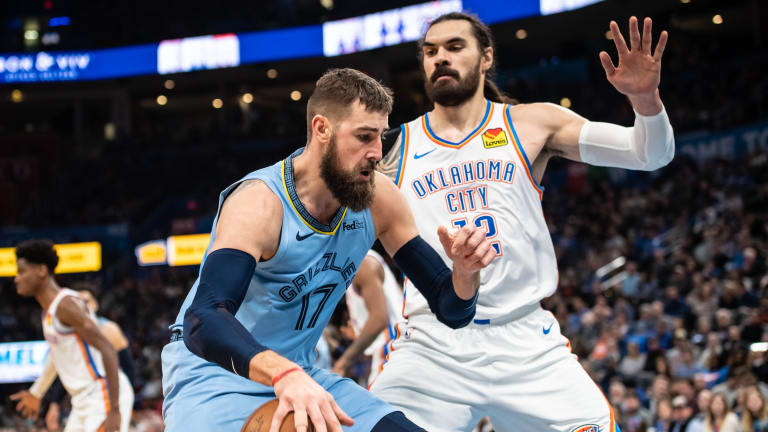 Jonas Valanciunas and Jaren Jackson Jr. Lead Balanced Memphis Grizzlies Attack In Payback Win Over The Oklahoma City Thunder